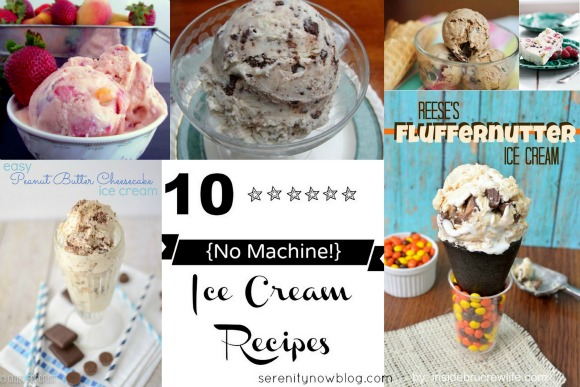 Ice Cream Recipes without a Machine! at Serenity Now