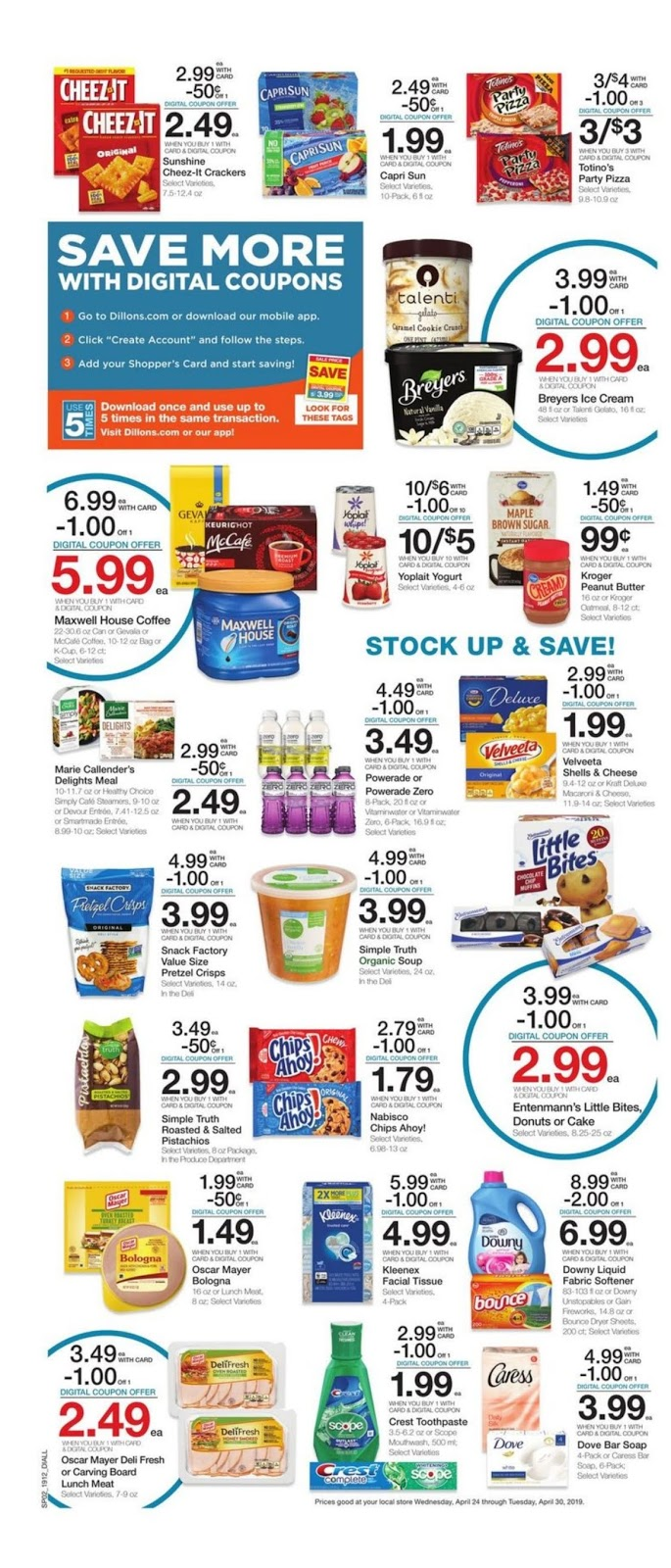 Dillons Weekly Ad April 24 30 2019