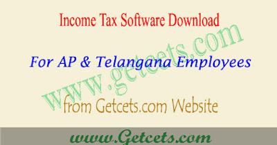 IT Income Tax Software 2020 download AP & Telangana Teachers & Employees