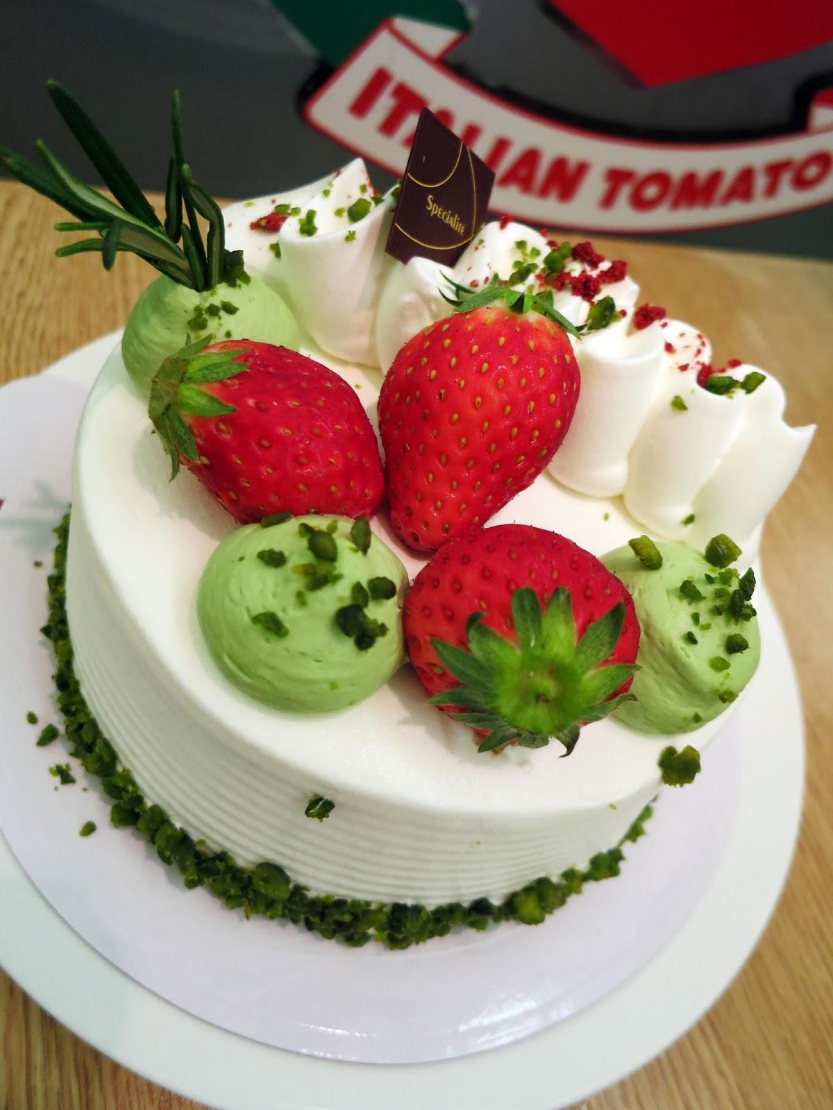 甜魔媽媽新天地: 小淇同小吉好重要 ~ HMY同吃Italian Tomato日本莓甜品