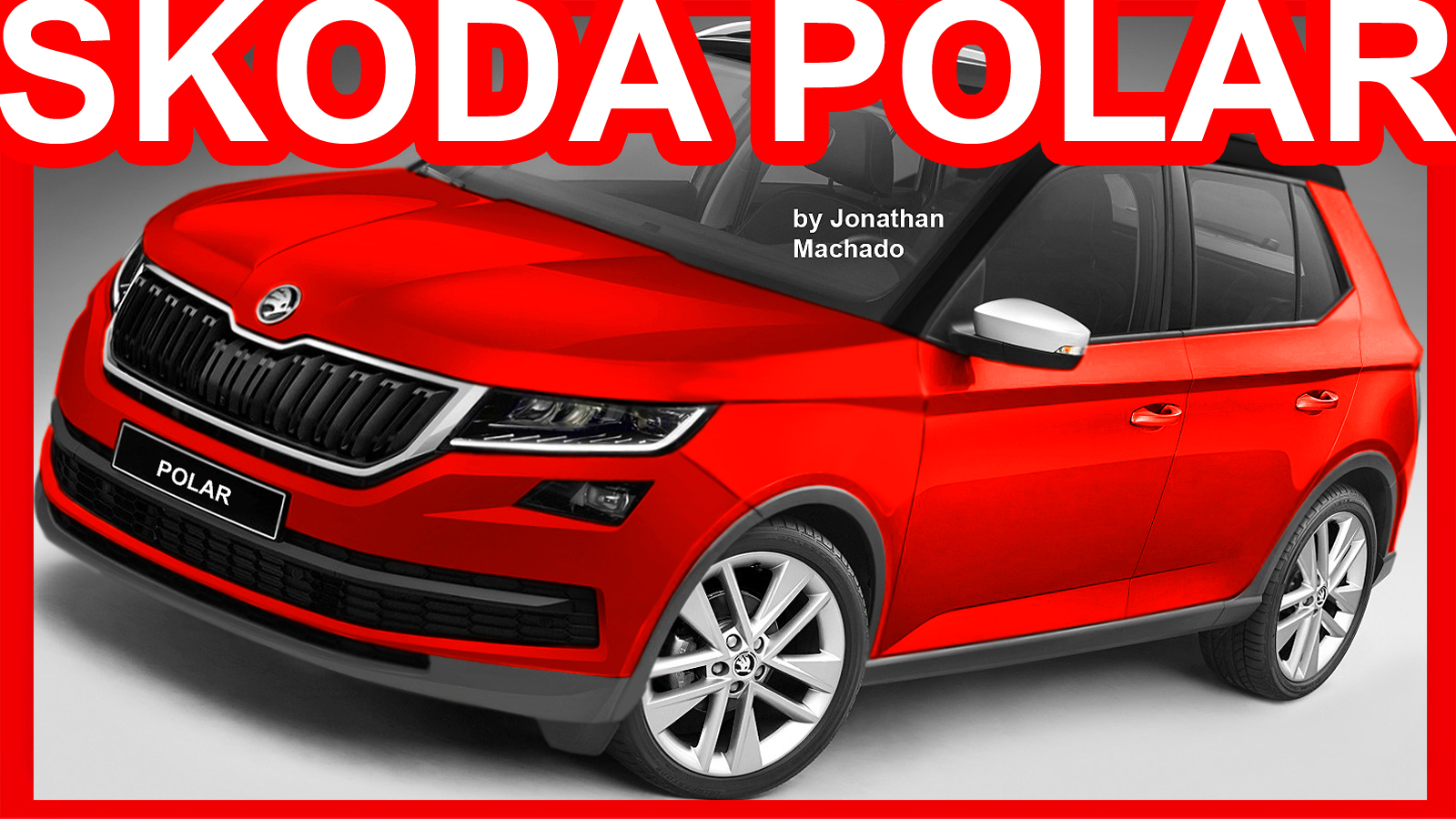 Photoshop New 2018 Skoda Polar Fabia Suv Skoda Carwp