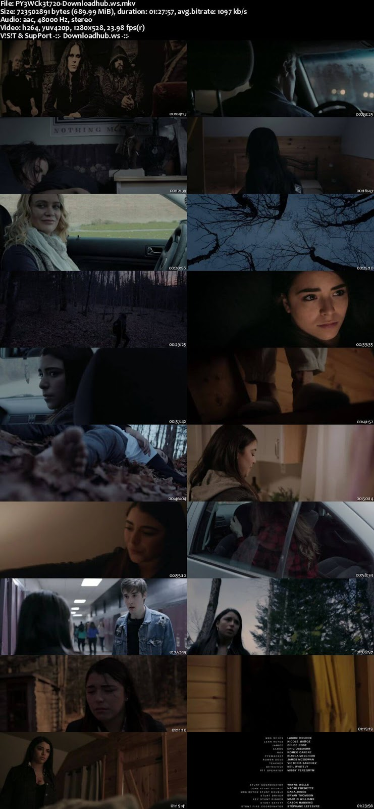Pyewacket 2017 English 720p Web-DL 700MB