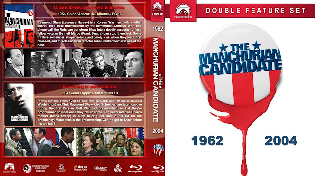 The Manchurian Candidate Double Feature DVD Cover