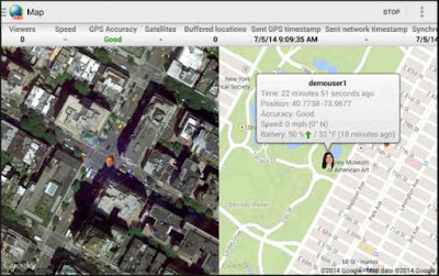 Real-Time GPS Tracker