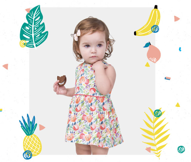 Vestidos de moda primavera verano 2018 para niñas.
