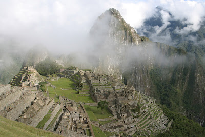 Machu Pichu, the Foggy view
