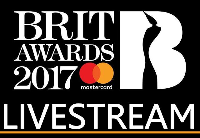 Brit Awards 2017 LIVESTREAM