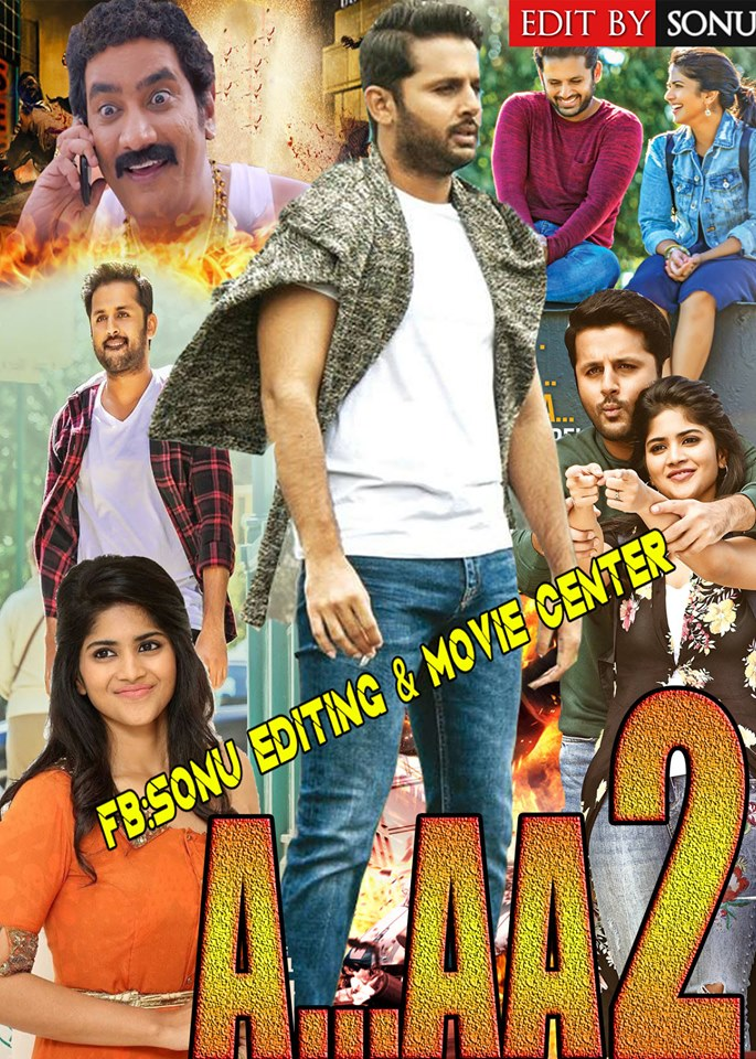 A…Aa 2 (Chal Mohan Ranga) 2019 Hindi Dubbed 450MB HDRip 480p Free Download