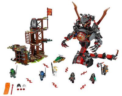 JUGUETES - LEGO Ninjago  70626 Infierno de Hierro  2017 | Piezas: 704 | Edad: 8-14 años  Comprar en Amazon España