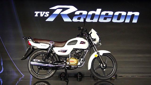 New TVS Radeon side view