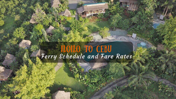 Iloilo to Cebu ferry schedule