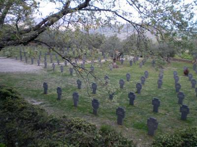 El cementerio Alemán de Cuacos de Yuste