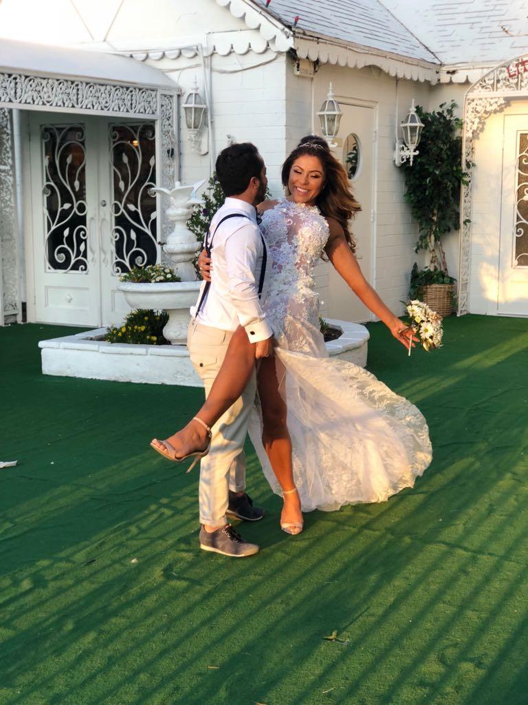 Thammy Miranda e Andressa Ferreira se casam em Las Vegas