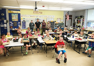 Tri-County Carpentry Students Visit McGovern Elementary in Medway 2