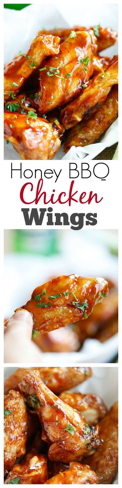 Honey BBQ Chicken Wings Recipe