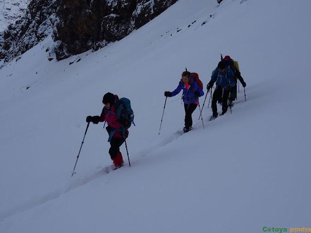 Camino hacia el Toubkal