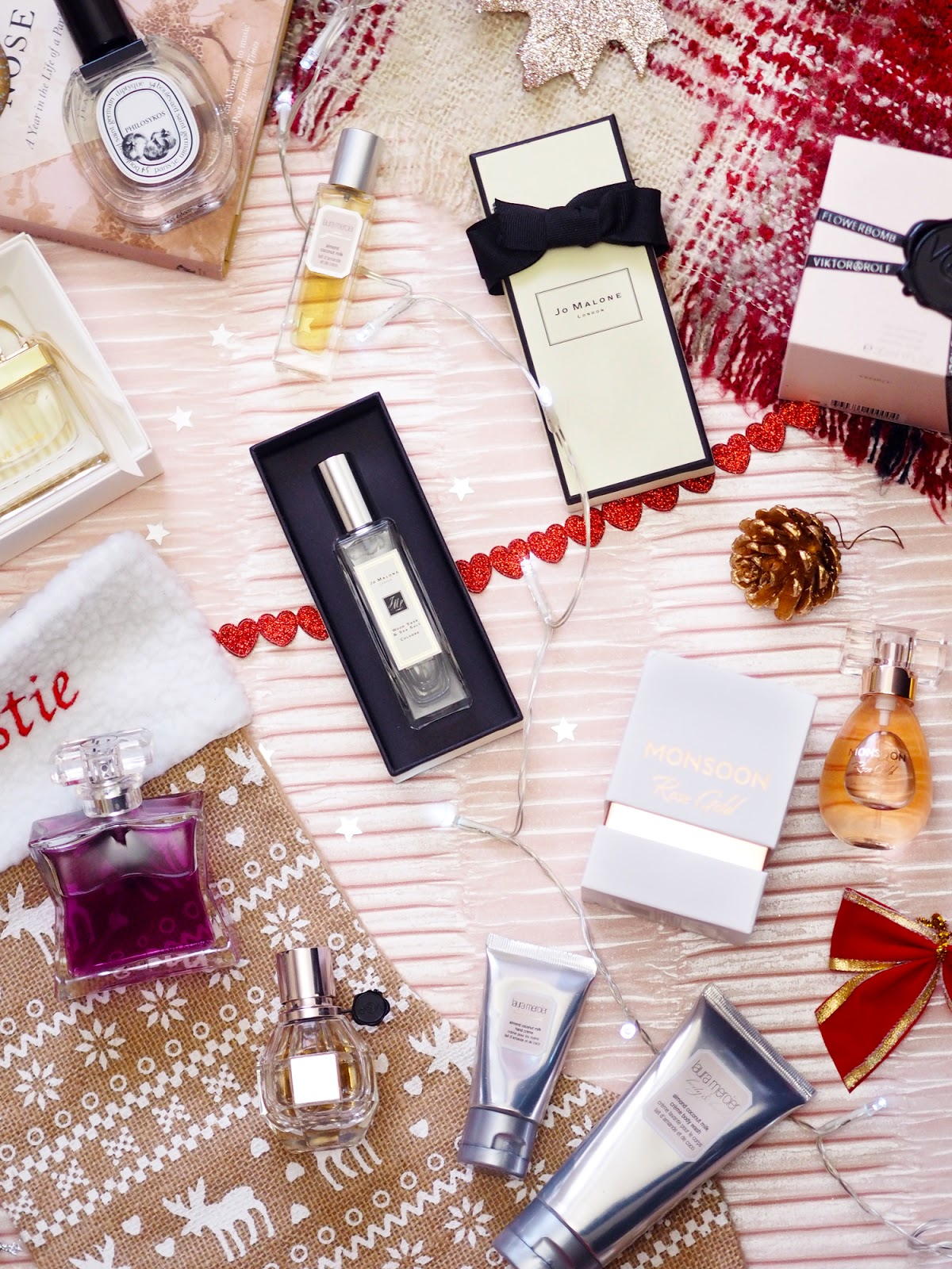 perfume gift guide monsoon rose gold jo malone chloe love story