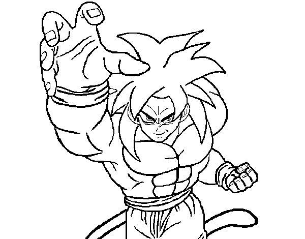 Blog MegaDiverso: Dibujos De Dragon Ball Z Para Pintar