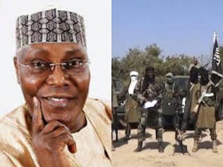 Atiku Abubakar and Boko Haram