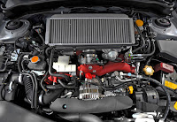 2011 Subaru Impreza WRX STI engine
