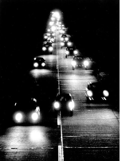 Peter Keetman Highway By Night, 1956