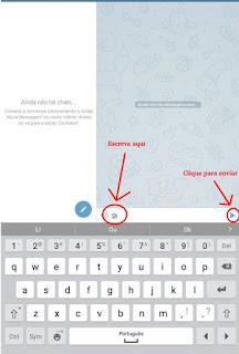Como mandar mensagem no Telegram