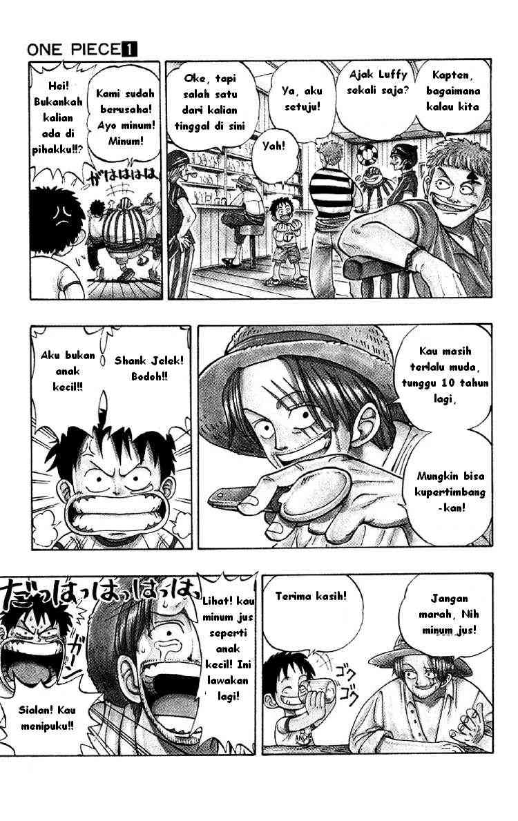 Komik Manga One Piece Sub Indonesia Bag. 1 | My Comics Manga