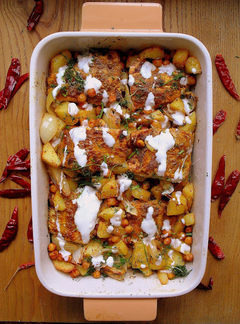 Ryba po indyjsku / Indian Style Baked Fish