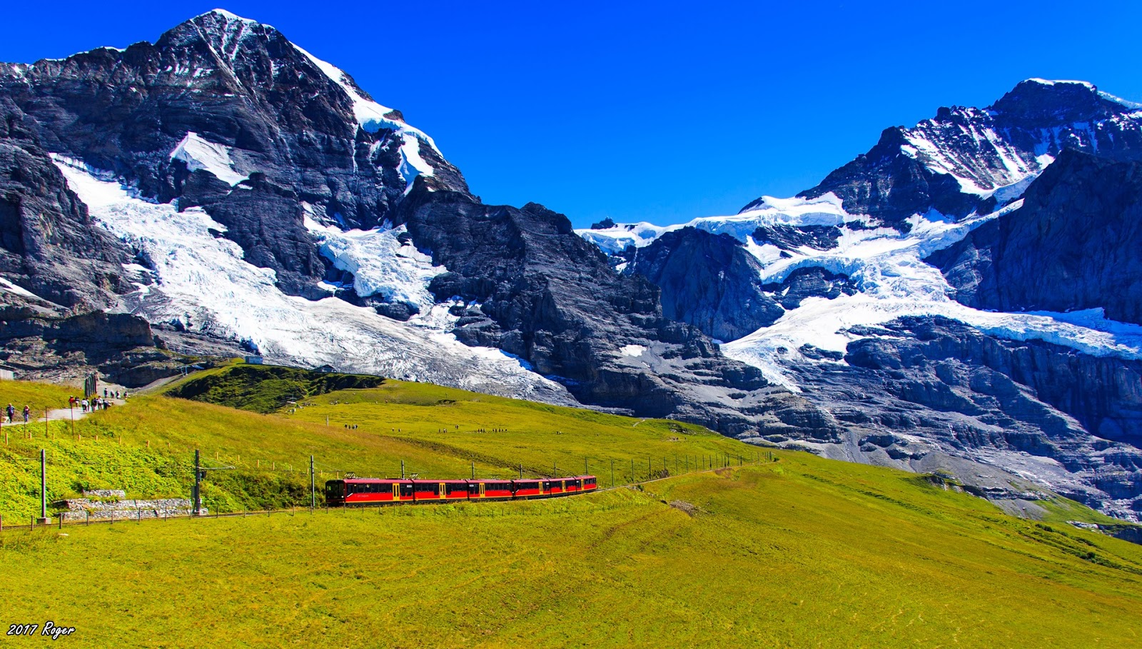 偶爾來個獨自旅行: Jungfrau 少女峰 - 一日攻略搞定少女峰