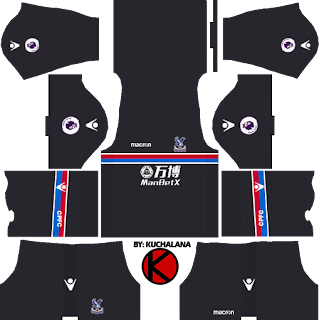 Crystal Palace F.C. Kits 2017/2018 - Dream League Soccer