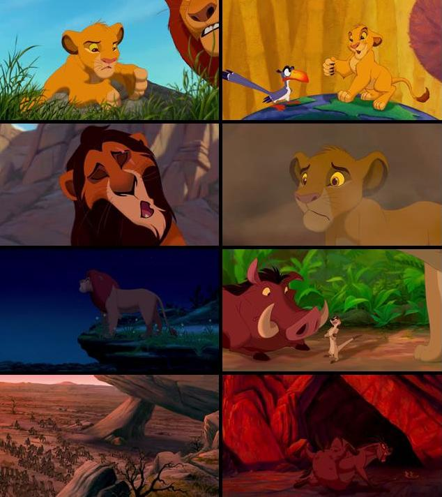 Lion King 1994 Dual Audio Hindi 480p BluRay