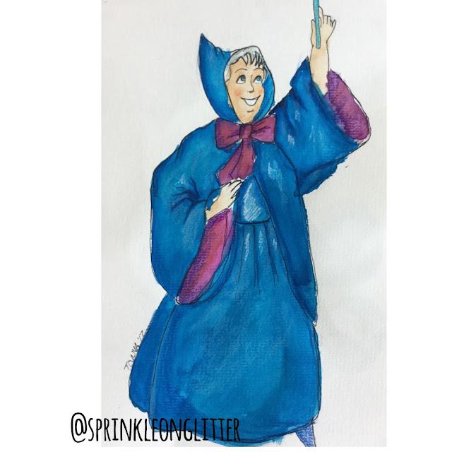 Sprinkle on glitter blog// 31 days of Disney// the fairy godmother