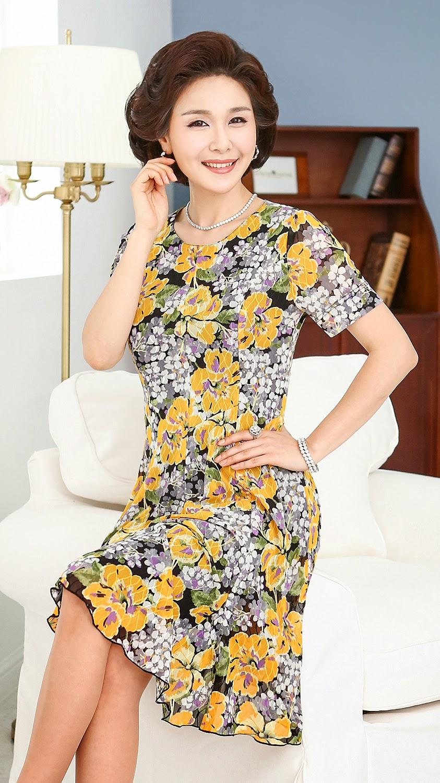Middle-Agedolder Womens Fashion Clothing Apparel-9942