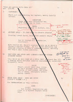 Star Trek - What Are Little Girls Made Of? - script - page crossed out