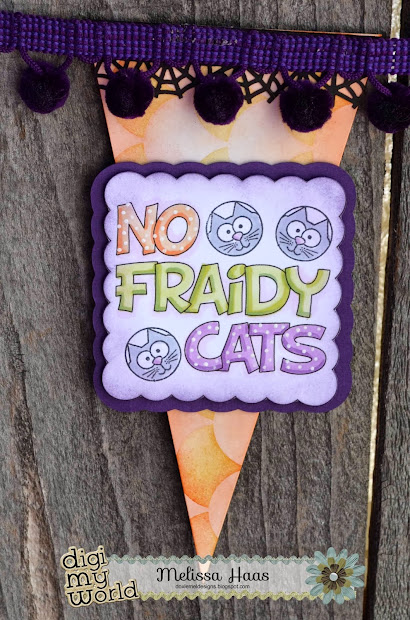 Doxie Mel Design Fraidy Cats Banner