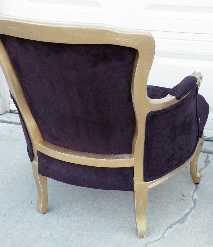 Trina Rose Boutique: Purple Accent Chairs Reveal