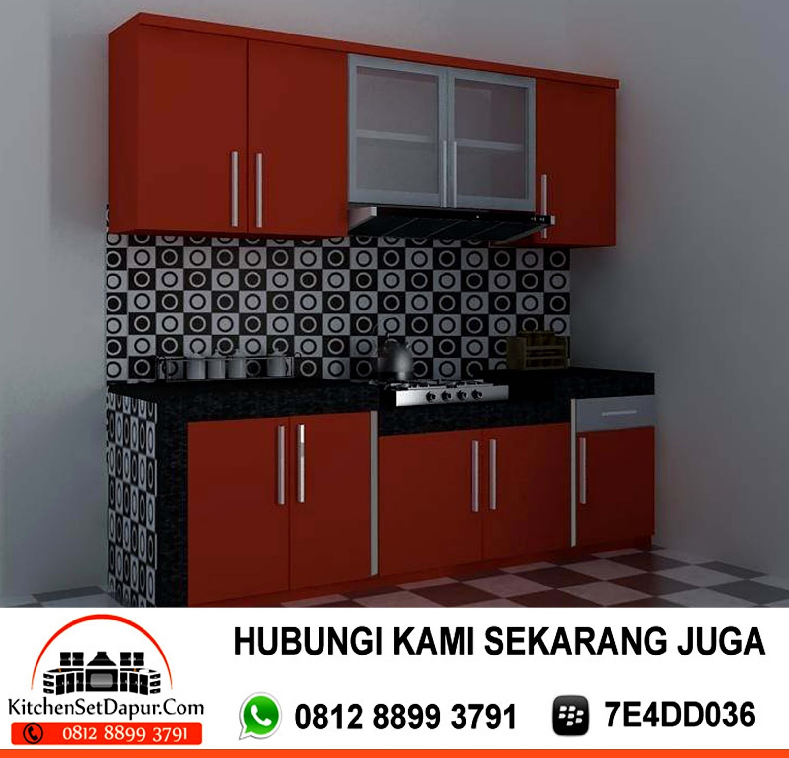 Jasa Pembuatan Kitchen Set Di Cibubur Hub 0812 8899 3791