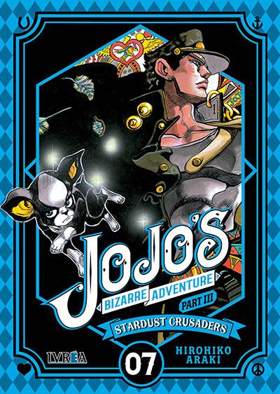 """Reseña de """"JOJO'S BIZARRE ADVENTURE: Stardust Crusaders"""" vol.7 de Hirohiko Araki - Ivréa"""