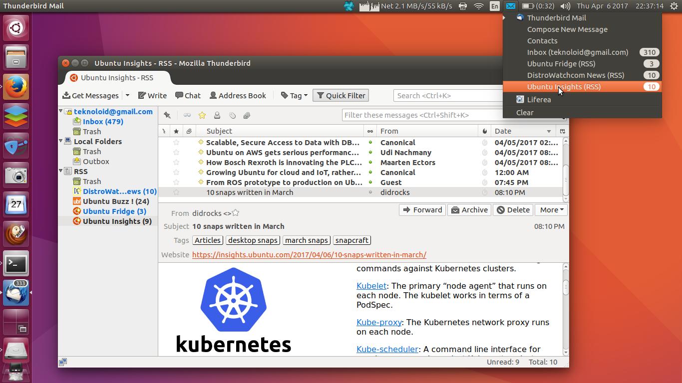 Ubuntu Buzz !: List of Desktop RSS Reader for Ubuntu & GNU/Linux