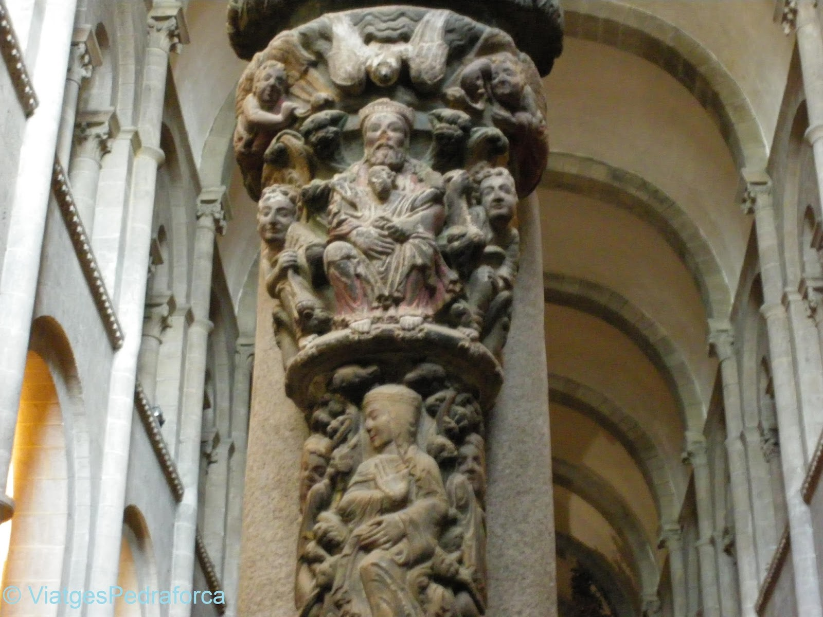 Pòrtic de la Glòria, Santiago de Compostela, Art romànic, Camino de Santiago, Camí de Sant Jaume