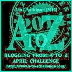 I'm blogging the A to Z Challenge!