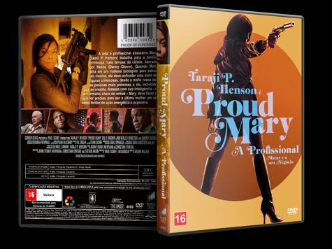 Capa DVD Proud Mary - A Profissional [Custom]