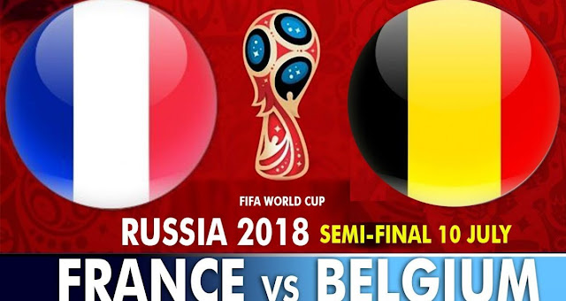 France vs Belgium Full Match Replay 10 July 2018