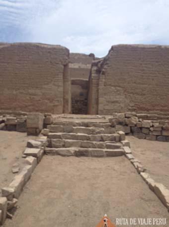 Puerta doble jamba Santuario de Pachacamac