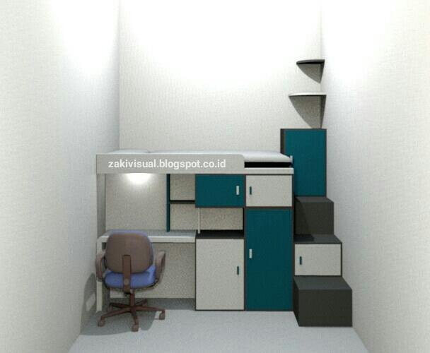 Desain Kamar Tidur Sempit Untuk Rumah Minimalis Desain Interior Rumah