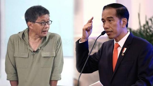 Soal Ajakan Jokowi ke TNI/Polri, Ini Tanggapan Rocky Gerung