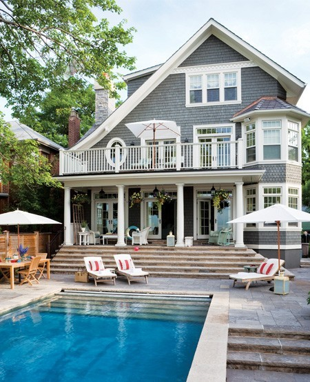 Currently obsessing about...a pool in the garden