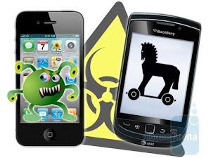 الحماية من الفيروسات على الهواتف الذكية اندرويد وايفون