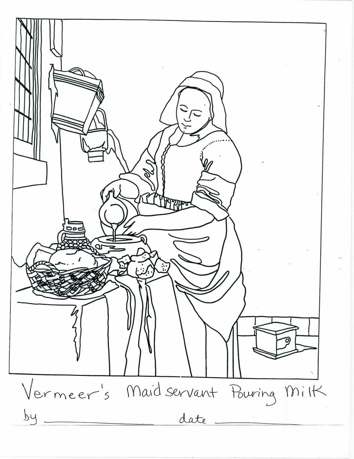 Art Masterpiece: Vermeer