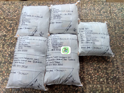 Benih pesana Tambahan  SUYOTO Grobogan, Jateng.   (Sesudah Packing)